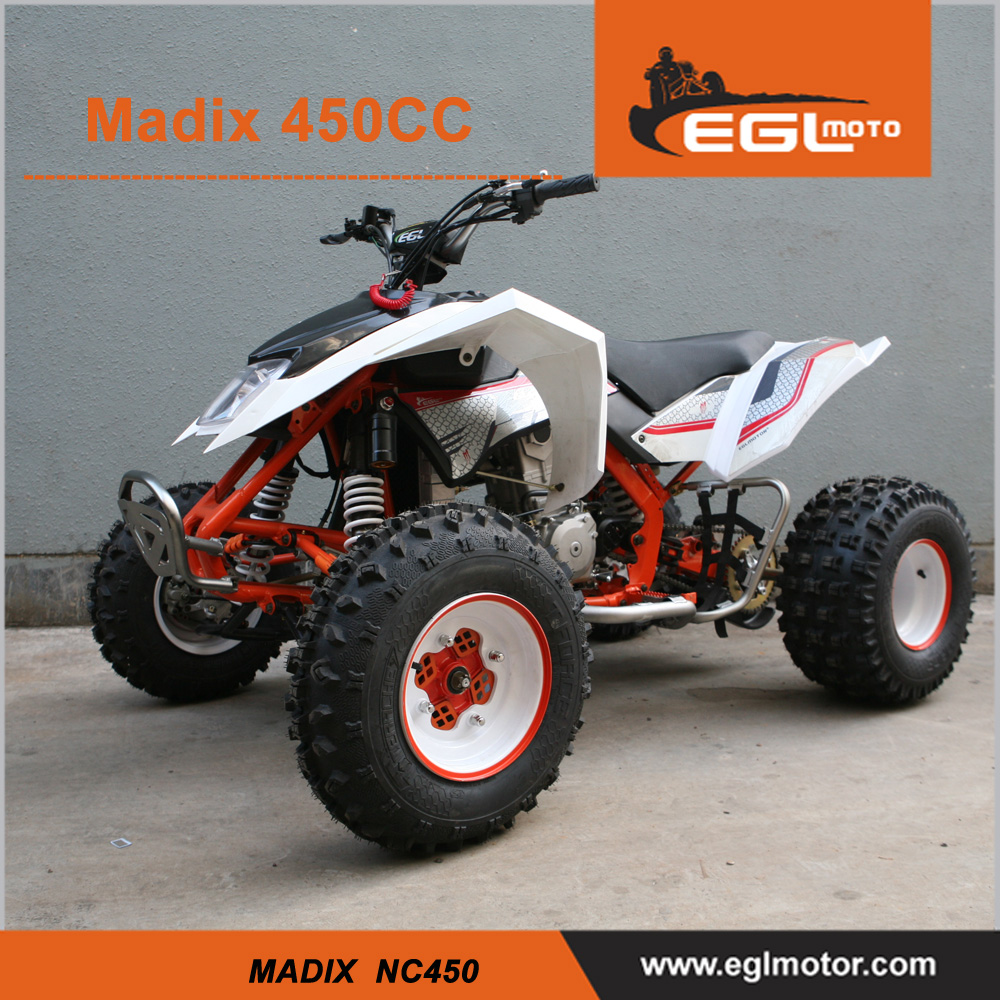 Mad Max 450cc racing quad Approval Atv street legal with CE