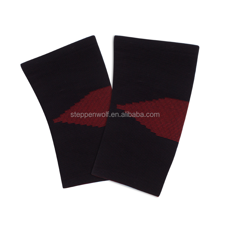 Factory direct sales Breathable elastic nylon Knitting knee sleeve knee pads and elbow pads