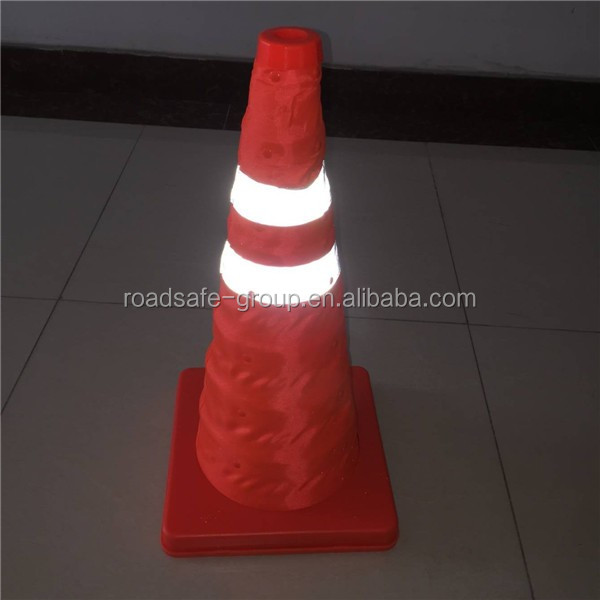 road equipment emergency flexible recycled traffic cones