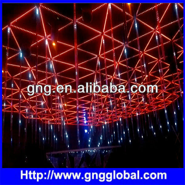 mirror dmx meteor snowfall light tube world top 100 club DJ bar