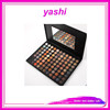 YASHI wholesale eyeshadow makeup tool with Mirror 88 color eyeshadow palette set