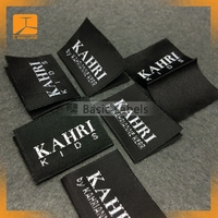 China factory direct cheap Clothing Woven Label manufacturer