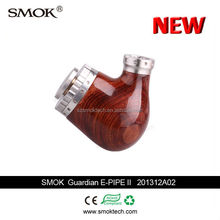 Hot sale electric smoking pipe smok guardian e-pipe II made of wood pipe type electronic cigarette