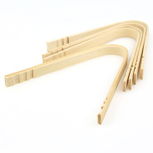 Eco-friendly Kitchenware Serving Tongs Bamboo Bread Clip Tongs