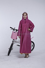 waterproof rain poncho with sleeves in high quality