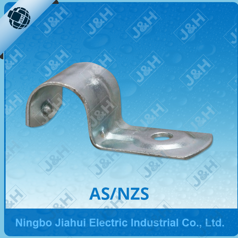 Aus metal bracket, stainless steel half saddle, metal saddle for cable conduit