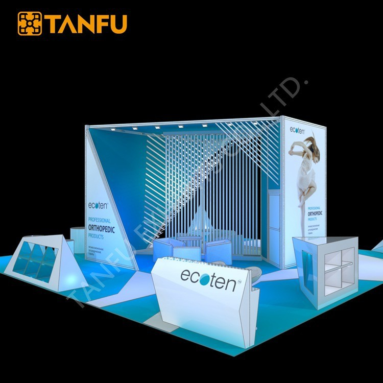 TANFU 10mx10m Large Trade Show Exhibition Display Booth