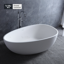 Customzied Artificial stone bathtub For Hotel and Villa