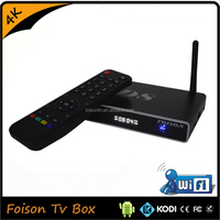 Foison Tv Box Download User Manual For Android Tv Box Quard CoreS805 4K Satellite Television Set-top Box