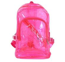 SC0688 Light Weight New Style Transparent PVC School Bag for Little Girls