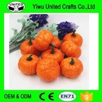 Artificial Fake Decorative Mini Pumpkin