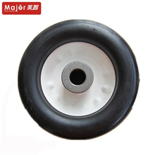 6 inch small solid rubber tyre toy car wheel