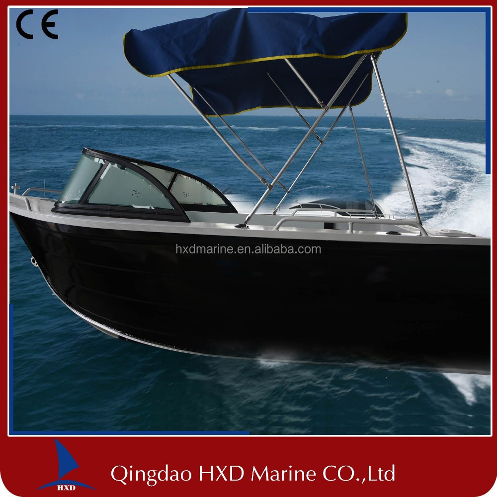 CE approved cheap aluminum fishing vessels for sale