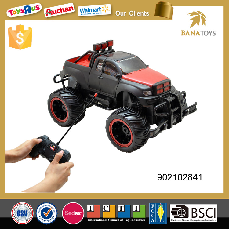 High speed rc plastic jeep toys
