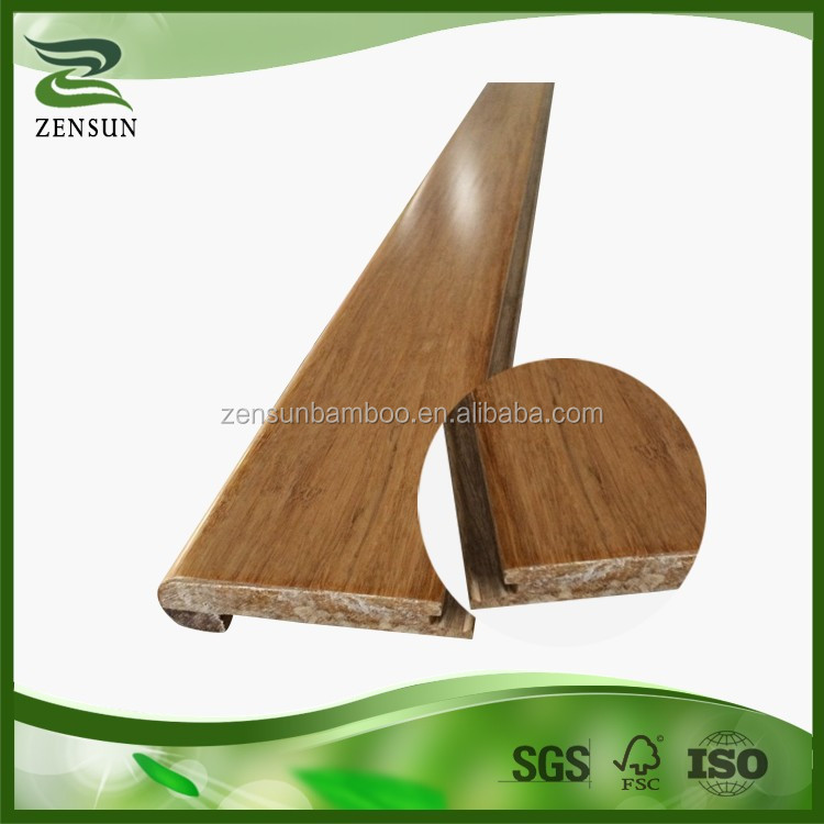 Exotic household accessories soild bamboo flooring stair nosing