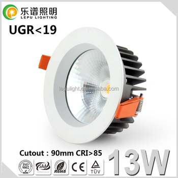 New Product Reflector CE RoHS Lamp Light Dimmable COB 40W 30W 24W 18W LED Downlight 13W