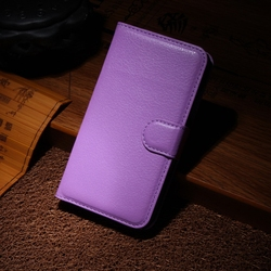 Fashion best sell genuine leather flip case for htc one x
