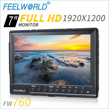 "7"" HDMI input 450cd/m2 brightness histogram smallest hd monitor with 1920*1200"