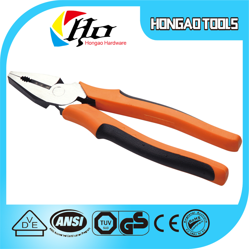 Good Quanlity with CE certification OEM , Linesman plier/ Small Combination Pliers / Pinchers /wire stripping pliers