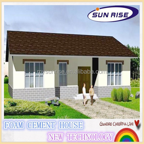 SGS testing low costmalaysia ready made steel house villa