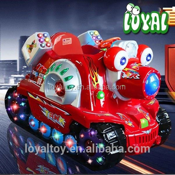 2016 coin operated custom kids toy ride on cars, newest tank amusements rides for sale, commercial grade arcade gaming machine