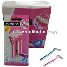 Ce approved dental disposable interdental brush