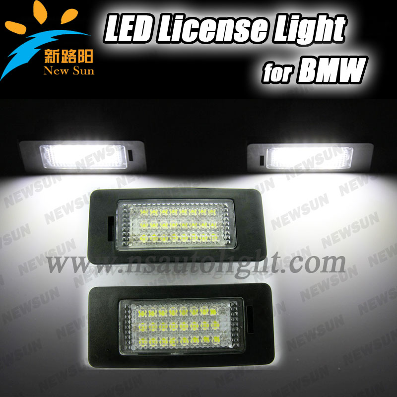 Canbus Led License Plate Lamp For BMW E82 E88 Auto Car Accessory Back Light Wholesale Price