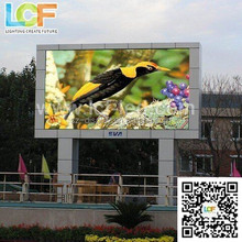 Aliexpress shenzhen video p10 Outdoor full color LED advertising Display
