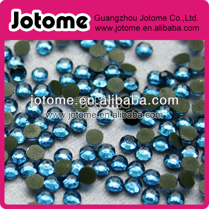 Original quality Crystal Flatback Non hot fix rhinestone