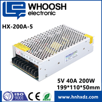 electronic component dc power supply 200w 5v 40A for LED light