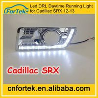 Hot Sale Auto Spare Parts 12 LED DRL Daytime Running Light Special for Cadillac SRX 2012-2013