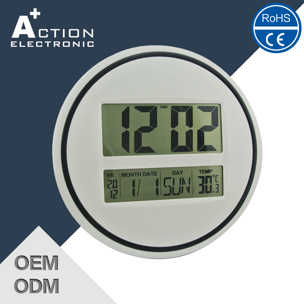Promotional Preferential Price Digital Wall Clock With Backlight