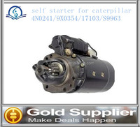 Brand New self starter for caterpillar 4N0241/9X0354/17103/S9963 with high quality and most comprtitive price.