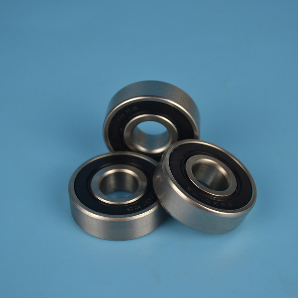 Chrome Steel Deep Groove Ball Bearing 6202 2RS used for ceiling fan