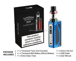 High Quality Chinese Factories E-cigarette Vaporizer 18650 Mod Jomotech Tomahawk 80W Alibaba Co Uk