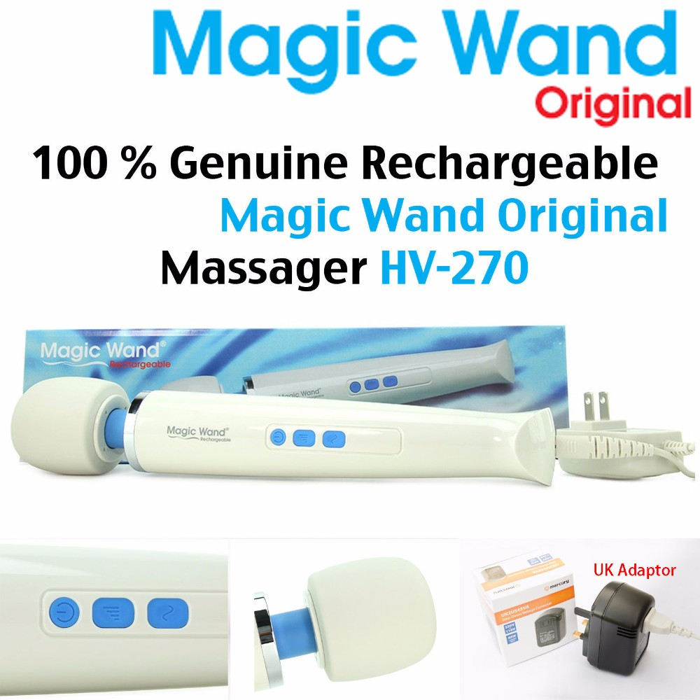 Rechargeable body wand <strong>massager</strong> hv270 magic wand <strong>massager</strong> magic wand original Waterproof Magic <strong>Massager</strong>