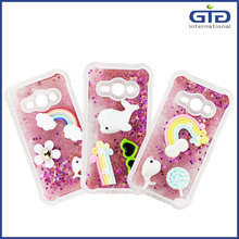 New Product Moving Glitter TPU Case For iPhone 6