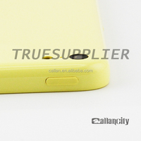 Factory Price Original Housing Yellow color Back Cover Housing Replacement For iPhone 5c