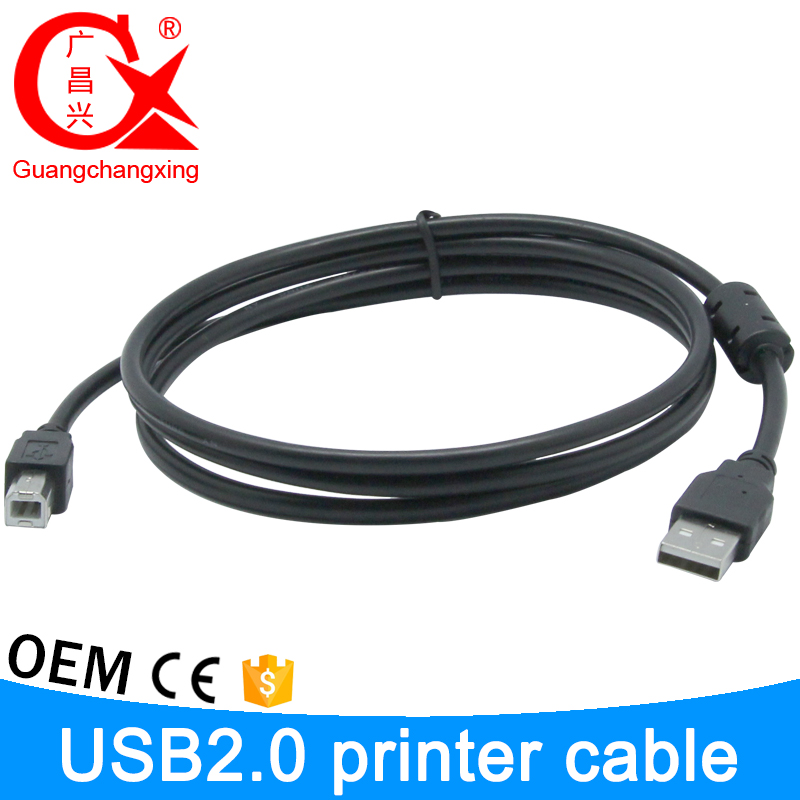 Factory Directly Wholesale AM To BM USB Cable AWM 2725