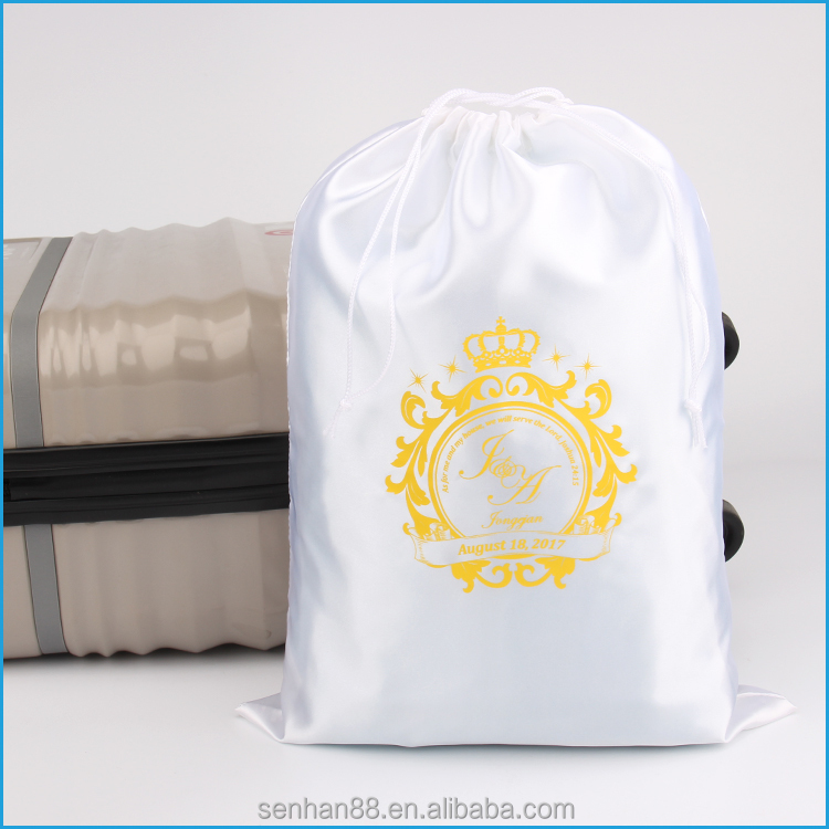 New Products Hot Selling Custom Drawstring Large Satin Dust Bags