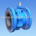 DIN Ball Valve with flagne end,