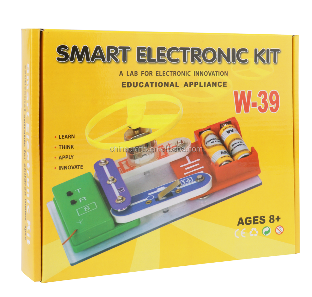 Electronics Discovery Kit DIY Toy Projects for Kids