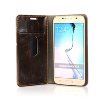 Fashion pu leather phone case for samsung galaxy s6