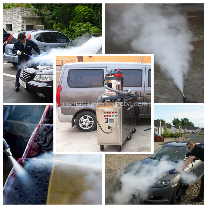 CE 30 bar 48 V mobile diesel car steam vehicle wash
