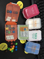 Portable Plastic 8 Day Pill Box Medicine Storage Pill Box Case Organizer