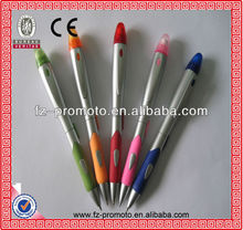 popular smart plastic mini ball pen for horse race or gamble