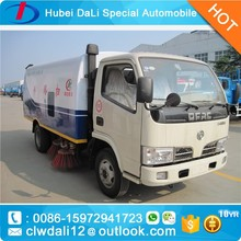 dongfeng 4x2 vacuum street sweeper 3 CBM small street sweeper truck
