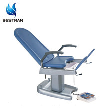 BT-GC002A Hospital Electric Gynecology Exam Chair obstetric table with leg support