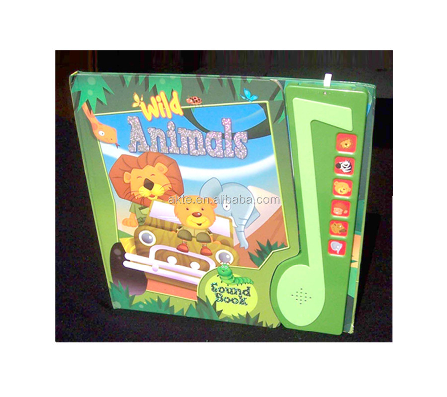 Child button sound board books talking module pad