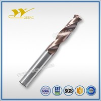 3D Internal Coolant Tungsten Carbide Drills for Stainless Steel Machining